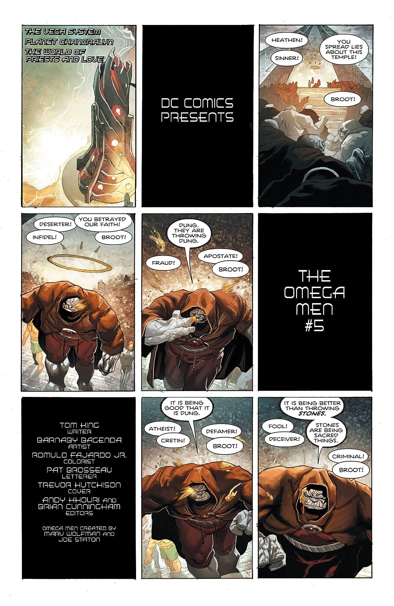 The Omega Men (2015-2016) #5