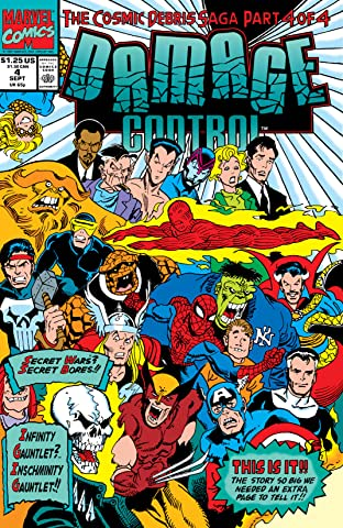 Damage Control (1991) #4 (of 4)
