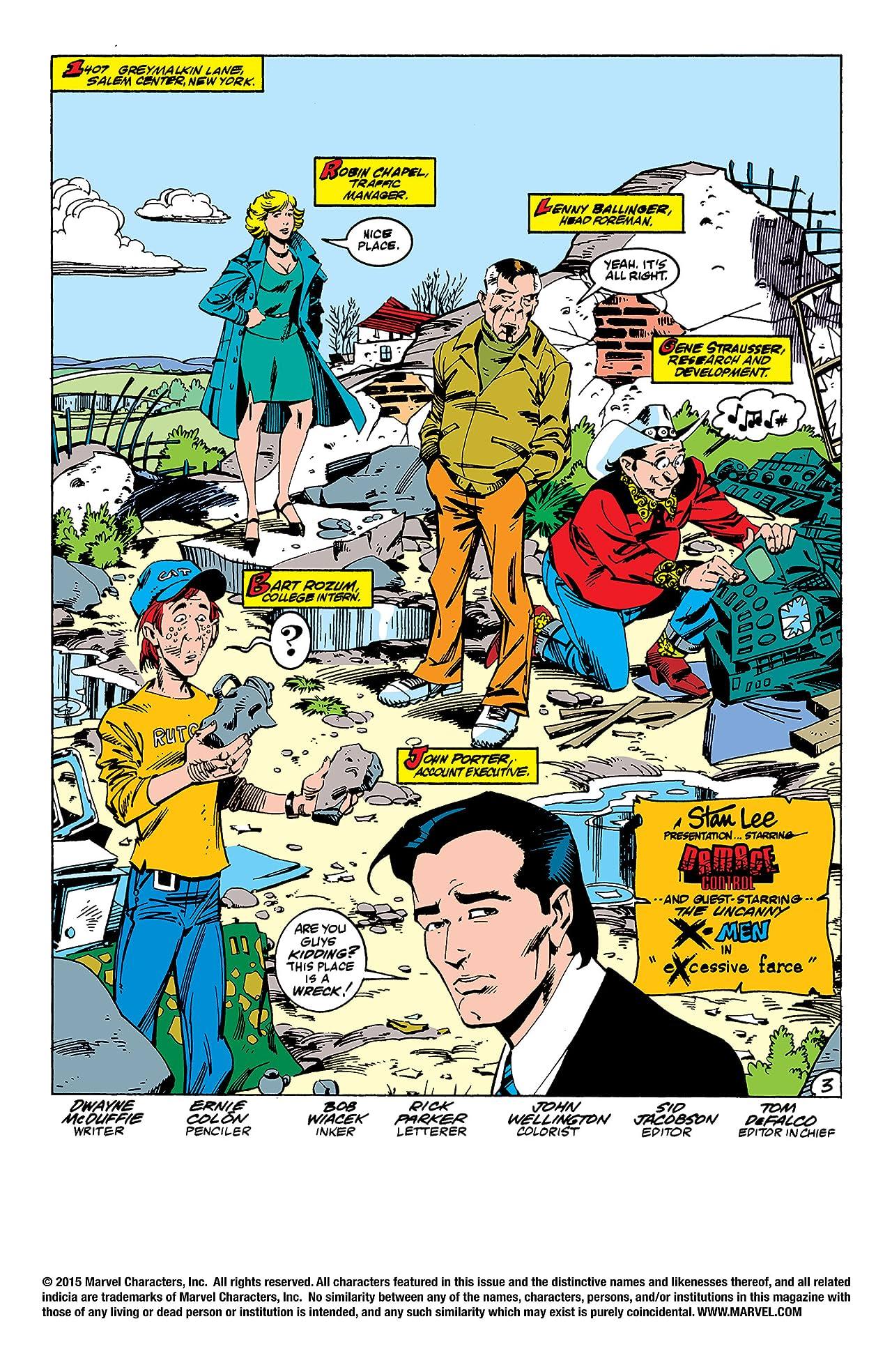 Damage Control (1989 I) #4 (of 4)