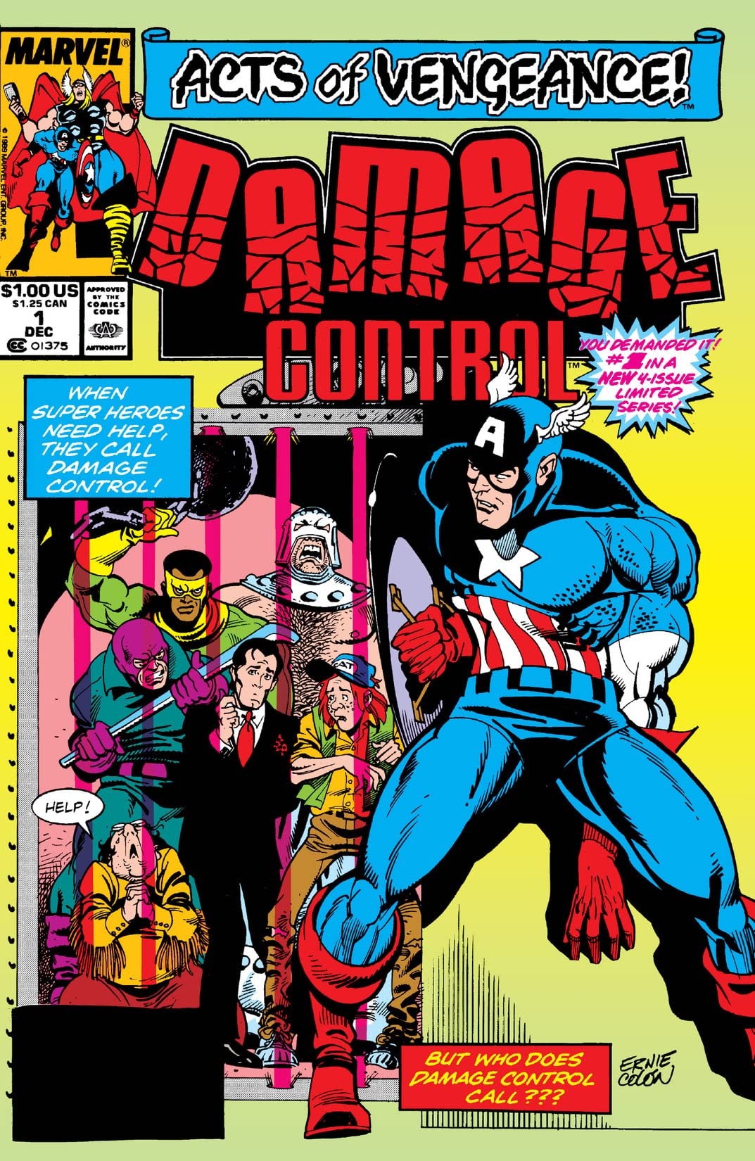 Damage Control (1989 II) #1 (of 4)