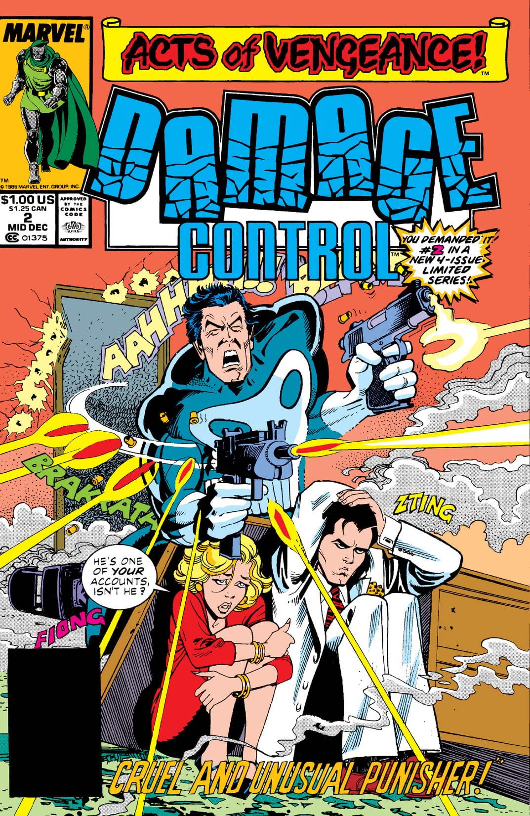 Damage Control (1989 II) #2 (of 4)