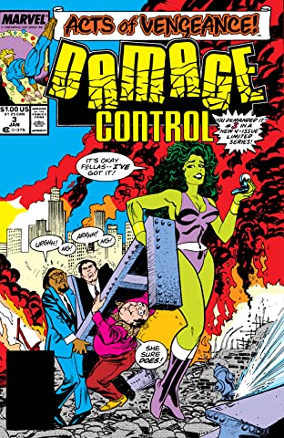 Damage Control (1989 II) #3 (of 4)