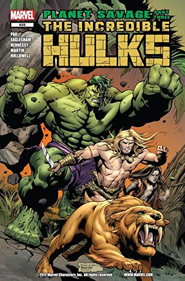 Incredible Hulks (2009-2011) #625