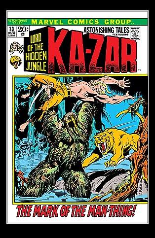 Astonishing Tales (1970-1976) #13