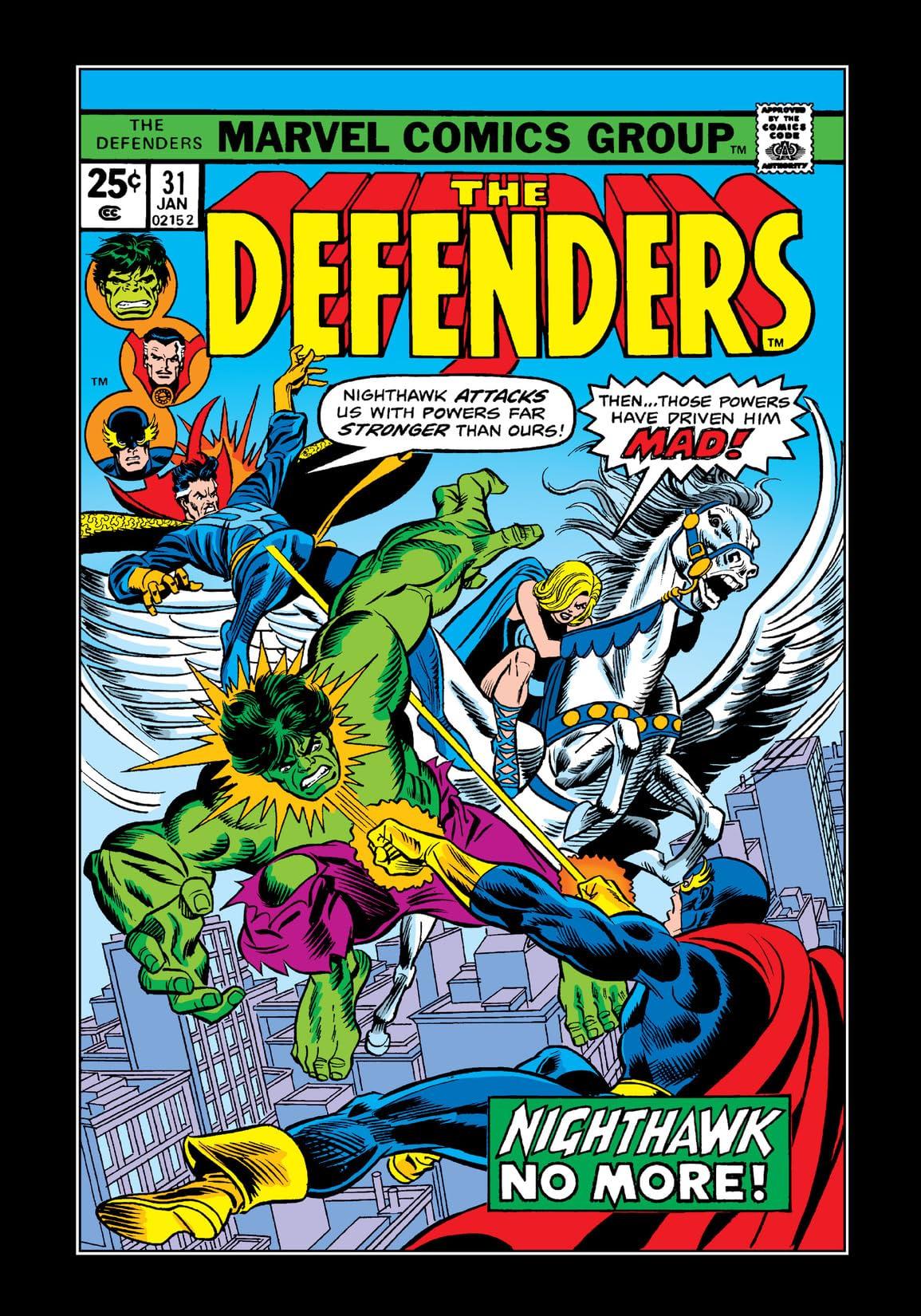 Defenders (1972-1986) #31