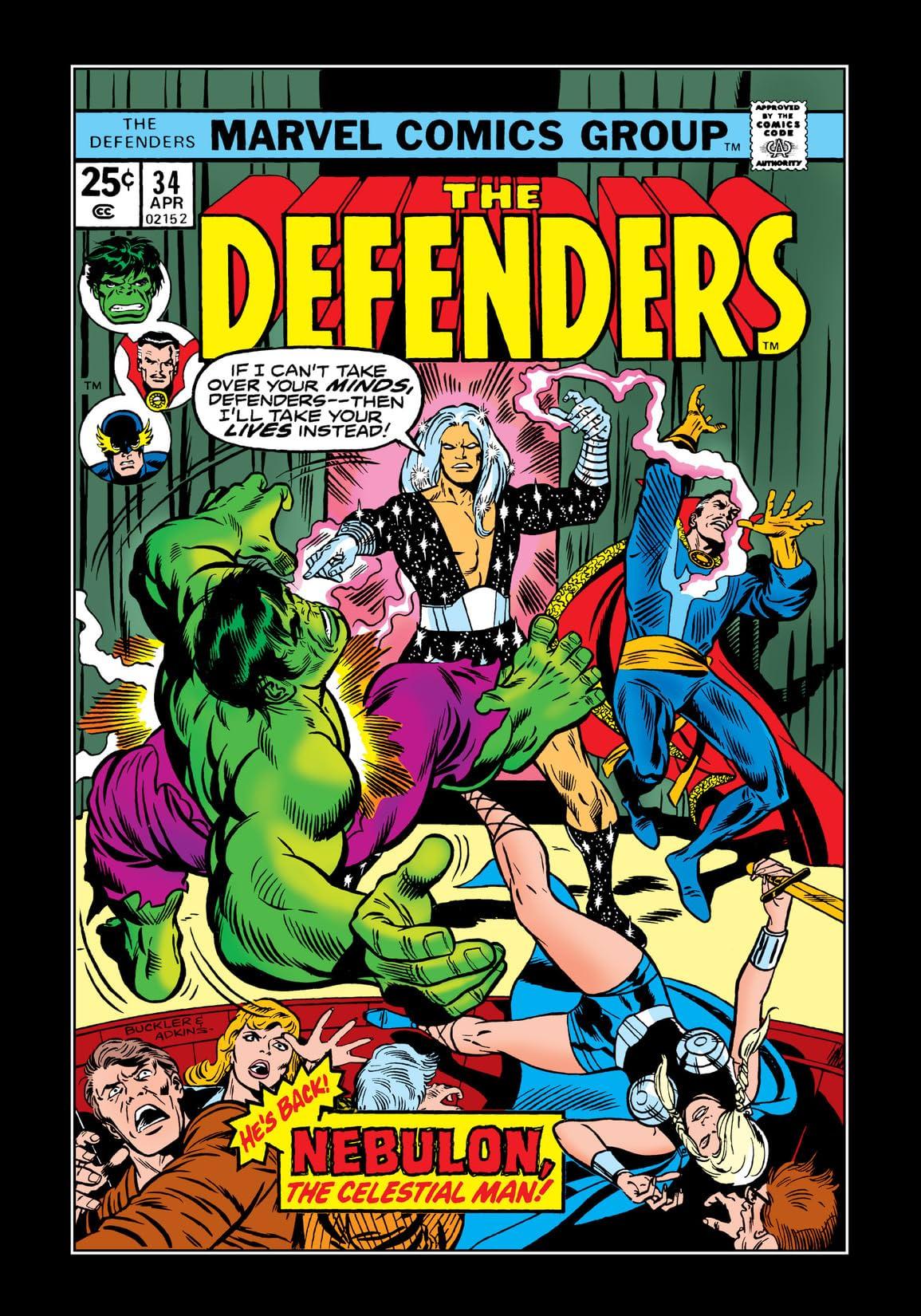 Defenders (1972-1986) #34