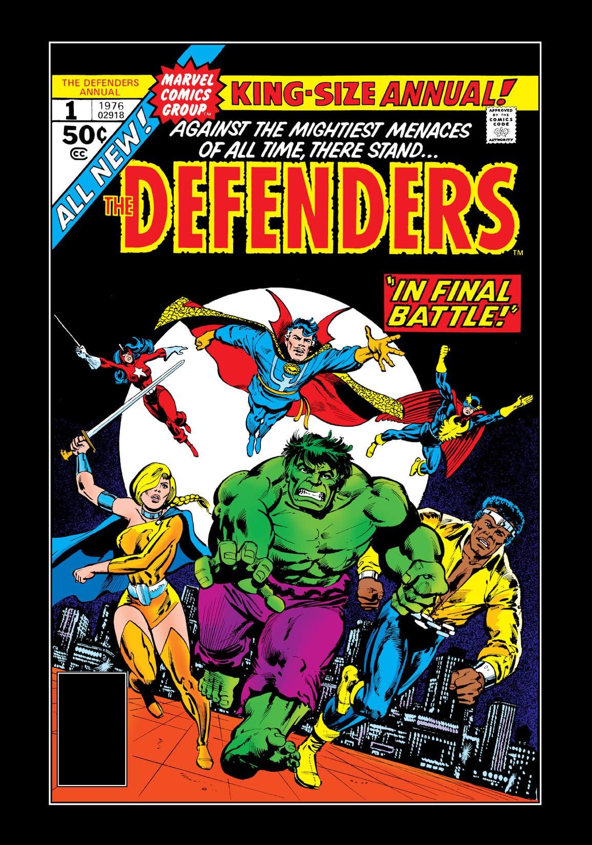 Defenders (1972-1986) Annual #1