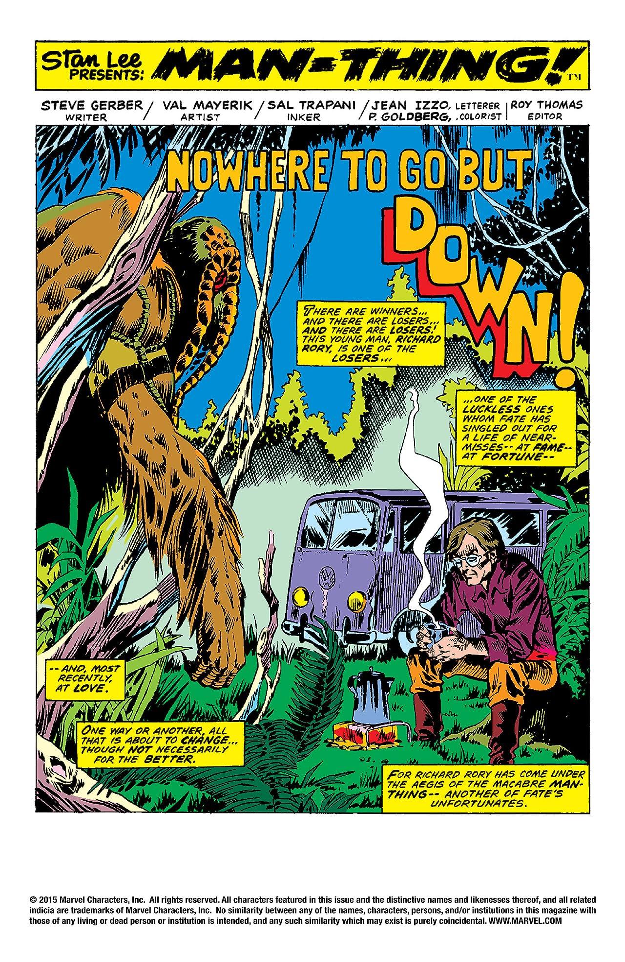 Man-Thing (1974-1975) #2