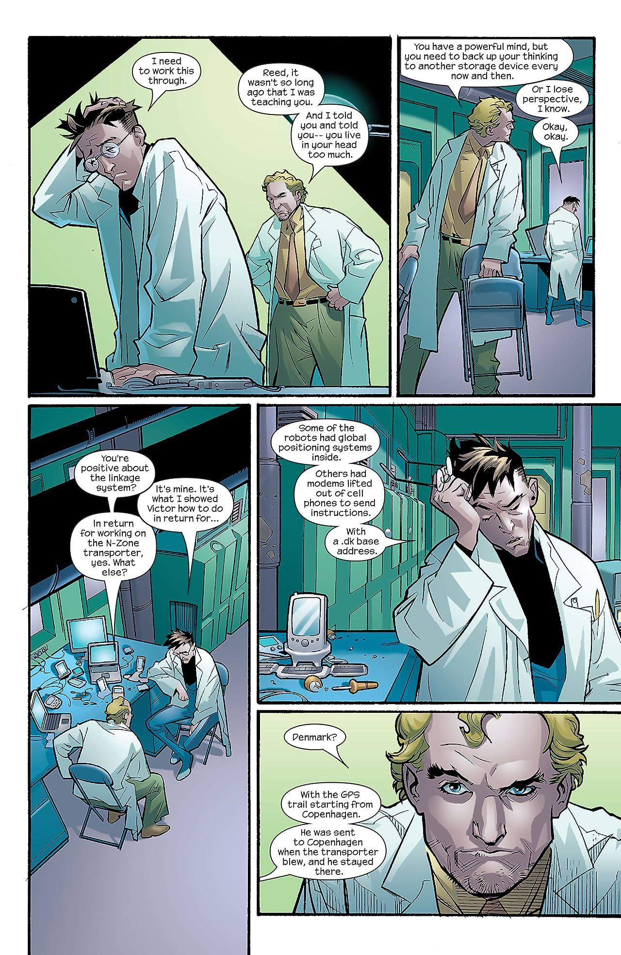 Ultimate Fantastic Four #10