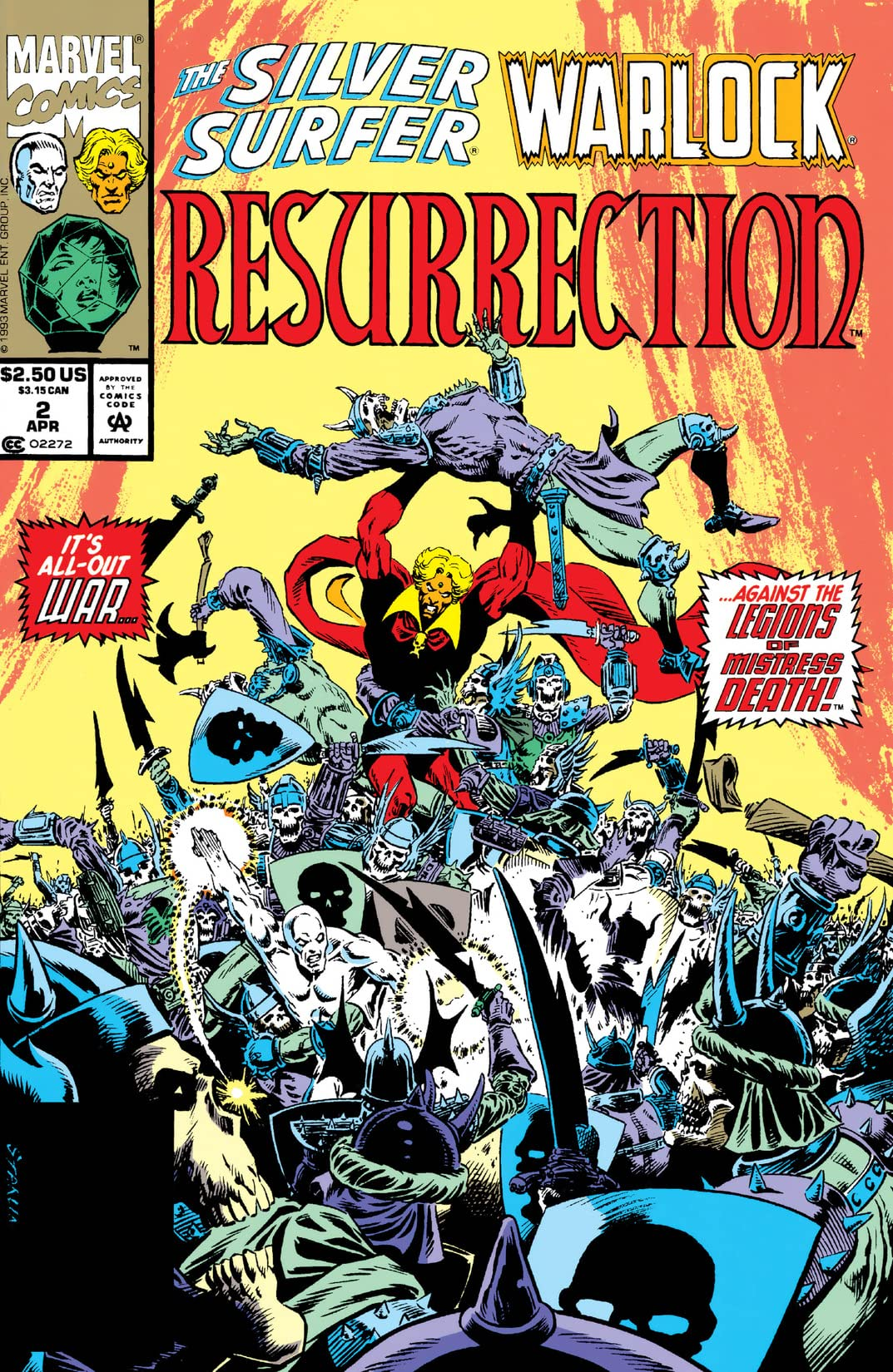 Silver Surfer/Warlock: Resurrection (1993) #2 (of 4)