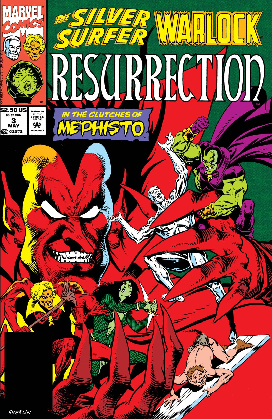 Silver Surfer/Warlock: Resurrection (1993) #3 (of 4)