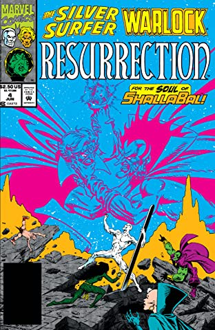 Silver Surfer/Warlock: Resurrection (1993) #4 (of 4)