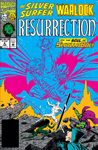 Silver Surfer/Warlock: Resurrection (1993) #4 (of 4)
