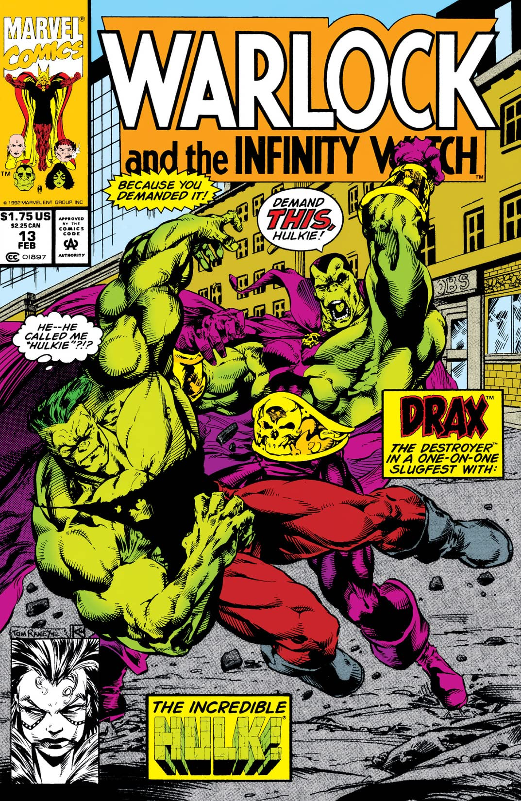 Warlock and the Infinity Watch (1992-1995) #13