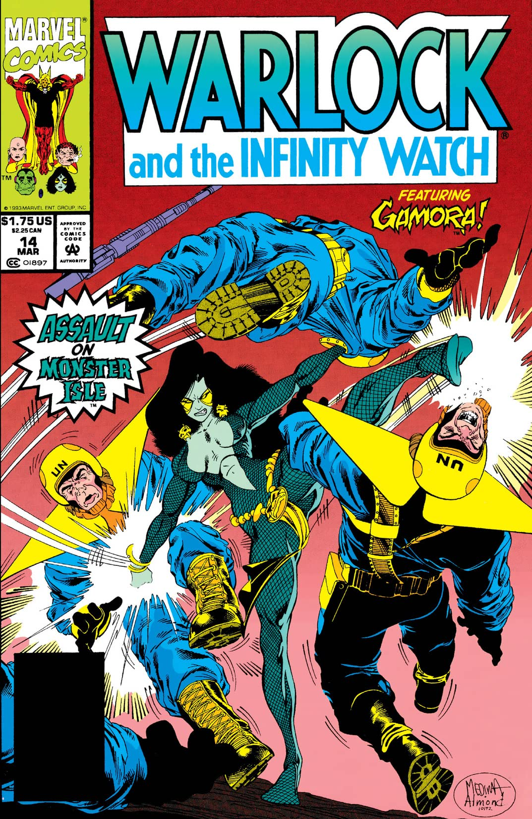 Warlock and the Infinity Watch (1992-1995) #14