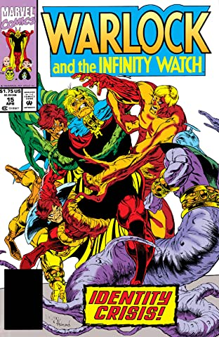Warlock and the Infinity Watch (1992-1995) #15