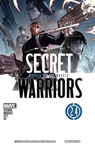 Secret Warriors (2008-2011) #24
