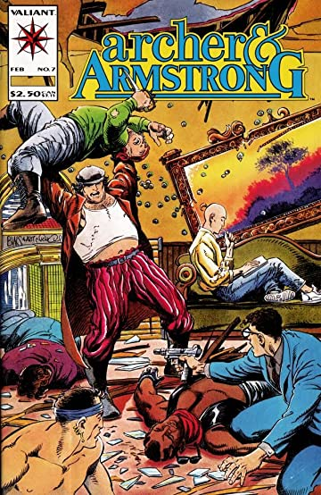 Archer & Armstrong (1992-1994) #7