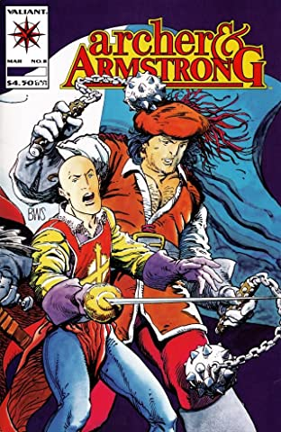 Archer & Armstrong (1992-1994) No.8