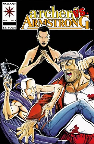 Archer & Armstrong (1992-1994) No.9