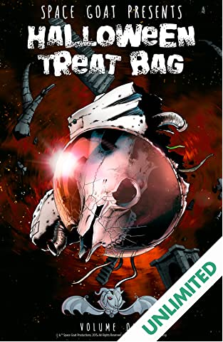 Space Goat Presents: Halloween Treat Bag
