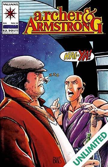 Archer & Armstrong (1992-1994) #12