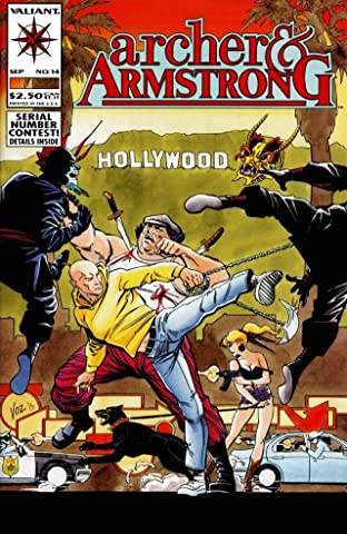 Archer & Armstrong (1992-1994) No.14