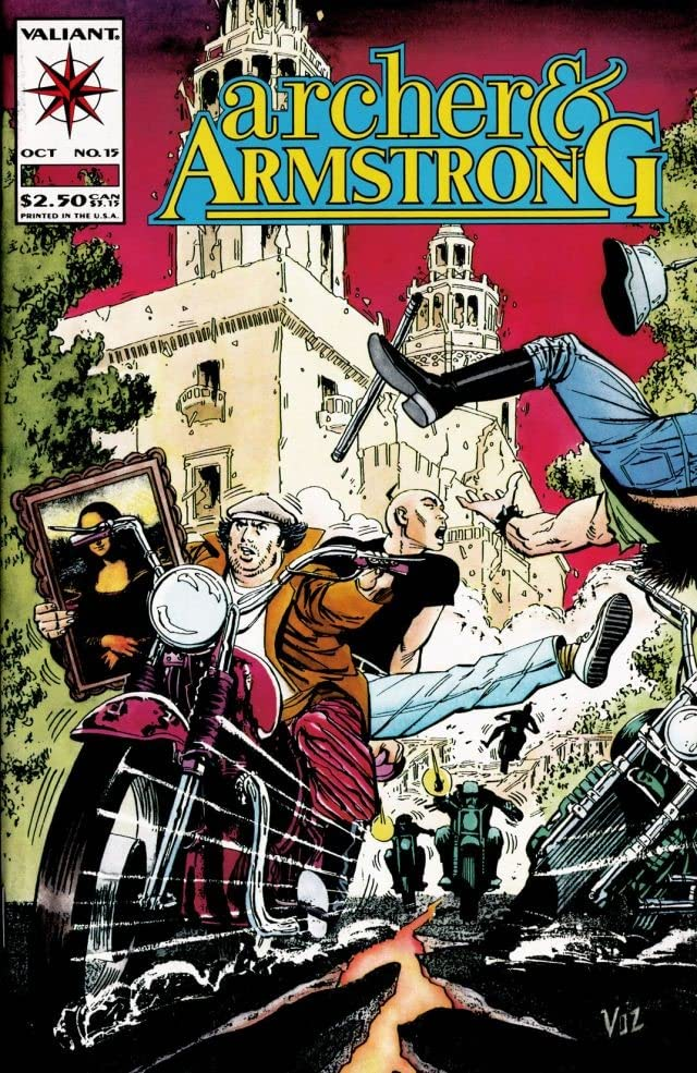 Archer & Armstrong (1992-1994) #15