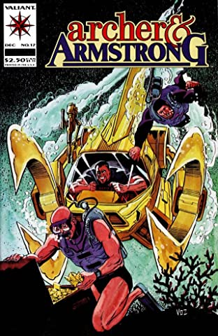 Archer & Armstrong (1992-1994) No.17