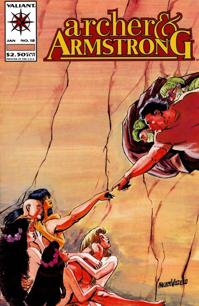 Archer & Armstrong (1992-1994) #18