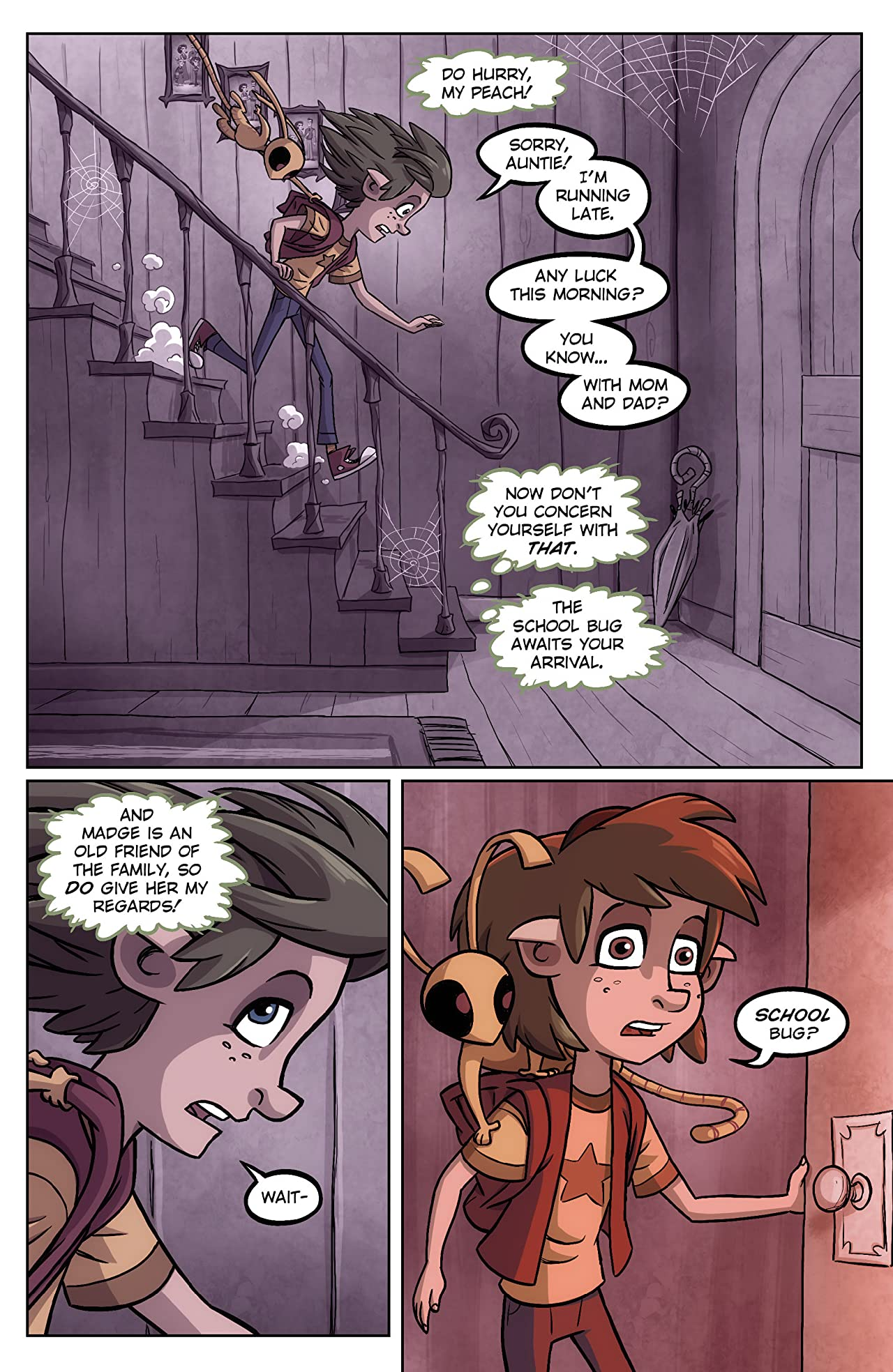 Oddly Normal #10