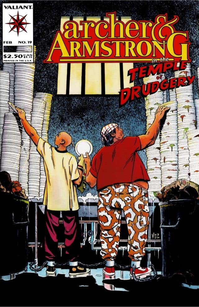 Archer & Armstrong (1992-1994) #19