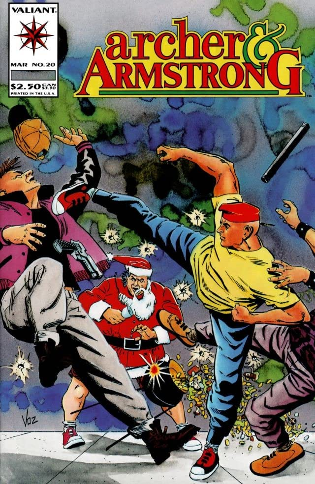 Archer & Armstrong (1992-1994) #20