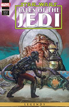 Star Wars: Tales of the Jedi (1993-1994) #4 (of 5)