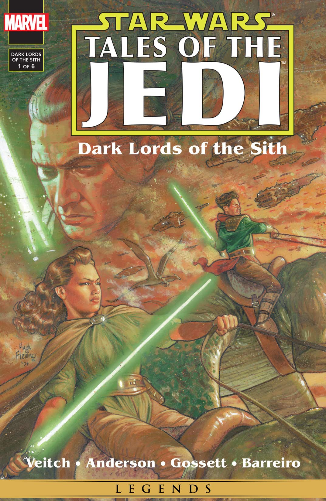 Star Wars: Tales of the Jedi - Dark Lords of the Sith (1994-1995) #1 (of 6)