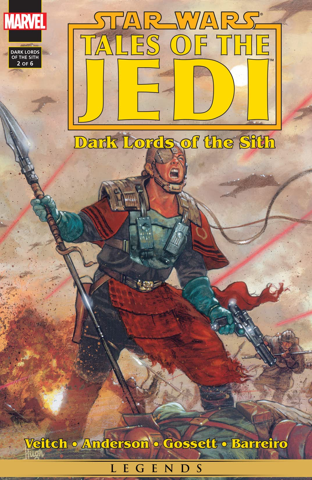 Star Wars: Tales of the Jedi - Dark Lords of the Sith (1994-1995) #2 (of 6)