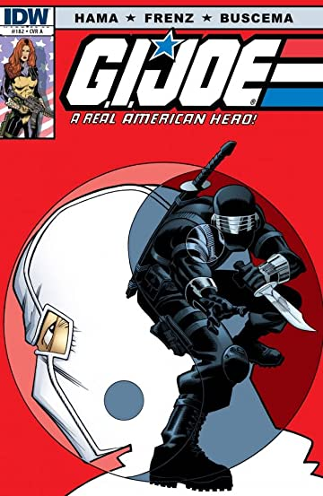 G.I. Joe: A Real American Hero No.182