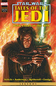 Star Wars: Tales of the Jedi - Dark Lords of the Sith (1994-1995) #6 (of 6)