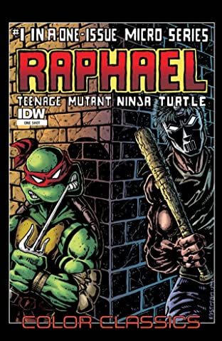 Teenage Mutant Ninja Turtles - Color Classics: Micro Series No.1: Raphael