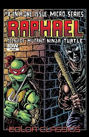 Teenage Mutant Ninja Turtles - Color Classics: Micro Series #1: Raphael