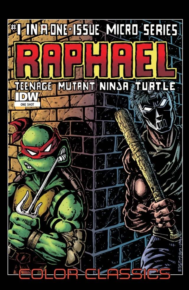 Teenage Mutant Ninja Turtles - Color Classics: Micro Series #1: Raphael
