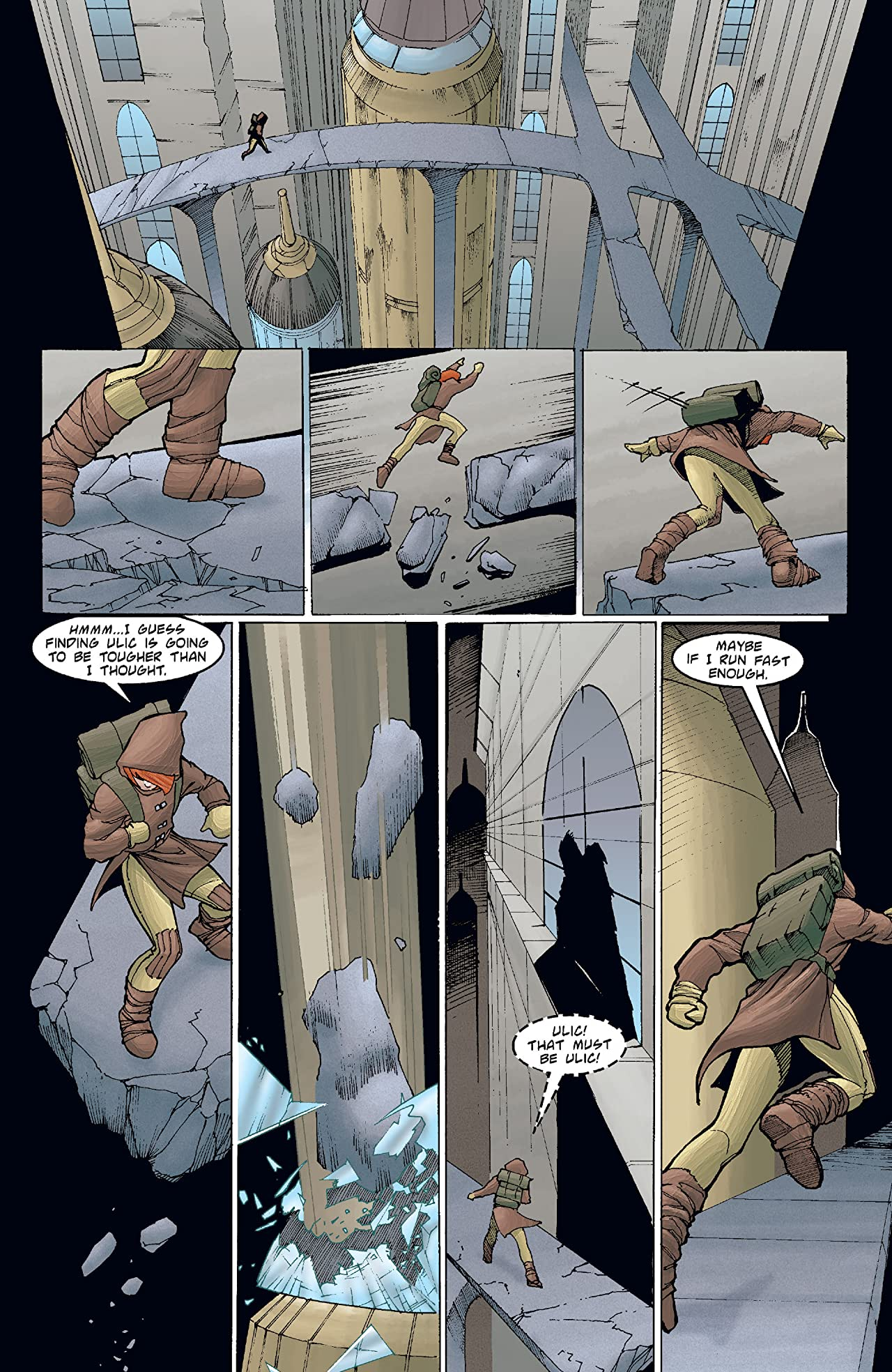 Star Wars: Tales of the Jedi - Redemption (1998) #3 (of 5)