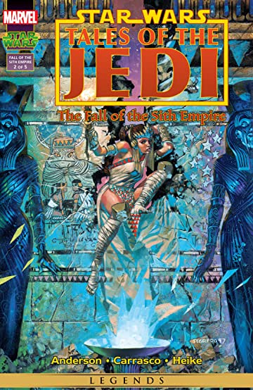 Star Wars: Tales of the Jedi - The Fall of the Sith Empire (1997) No.2 (sur 5)