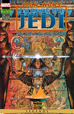 Star Wars: Tales of the Jedi - The Fall of the Sith Empire (1997) #5 (of 5)