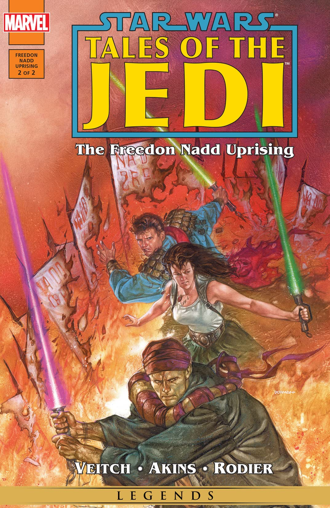 Star Wars: Tales of the Jedi - The Freedon Nadd Uprising (1994) #2 (of 2)