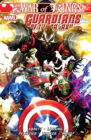Guardians of the Galaxy Tome 2: War of Kings Book 1