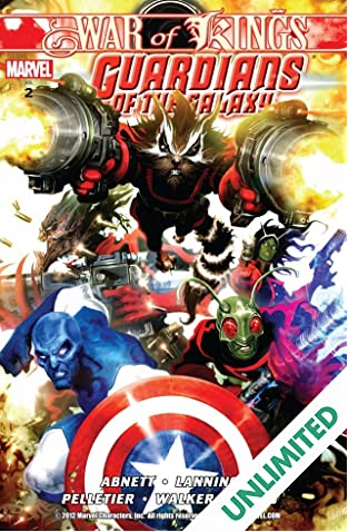 Guardians of the Galaxy Vol. 2: War of Kings Book 1