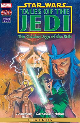 Star Wars: Tales of the Jedi - The Golden Age of the Sith (1996-1997) #2 (of 5)