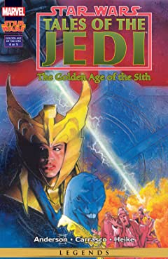 Star Wars: Tales of the Jedi - The Golden Age of the Sith (1996-1997) #4 (of 5)