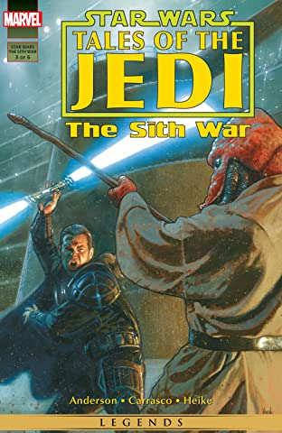 Star Wars: Tales of the Jedi - The Sith War (1995-1996) #3 (of 6)